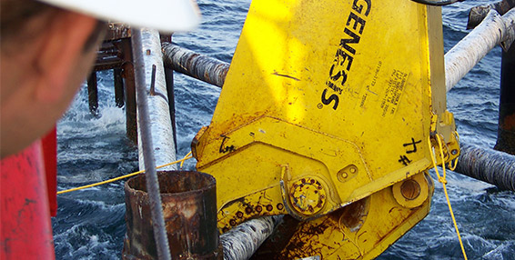 Offshore Decommissioning Button