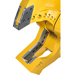Genesis heavy-duty demolition apparatus with replaceable tip and rotatable cross blade.