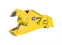 Used GXP (Genesis XP Mobile Shear) facing left.
