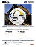 Genesis Pulse Technology® sell sheet.
