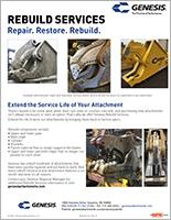 Genesis Rebuild Services brochure.