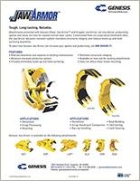Genesis Jaw Armor brochure.