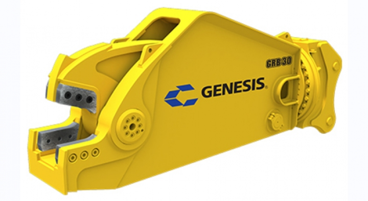 The GRB (Genesis Rail Breaker) is a new attachment.