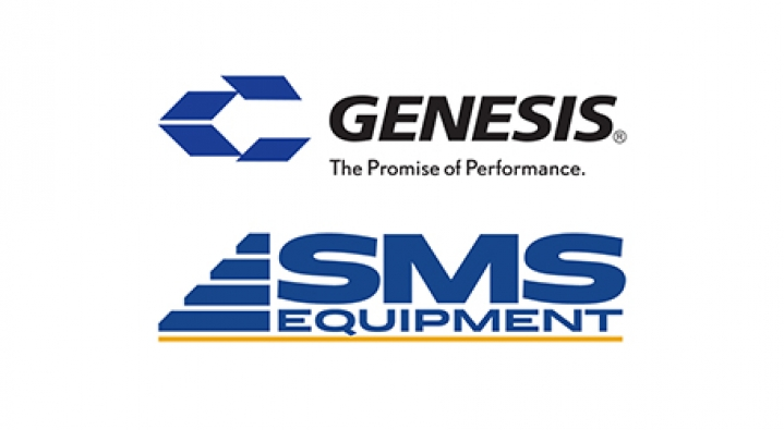 Genesis and SMS Equipment Logos Image