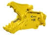 Yellow GRX Multi-Jaw Demolition Tool facing left