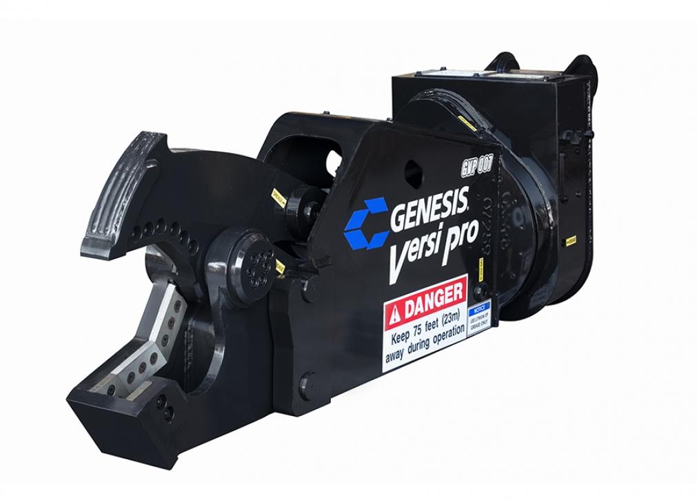 Black Genesis Versi Pro 07 with shear jaw open facing left.