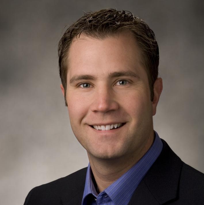 Genesis key account manager Blaine Archibald.