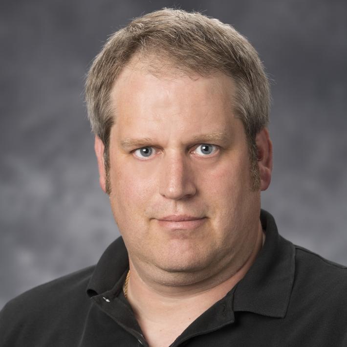 Genesis team member Rob Schlichting.