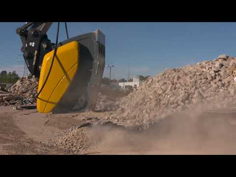 Mobile, on-site crushing with the GBC 950