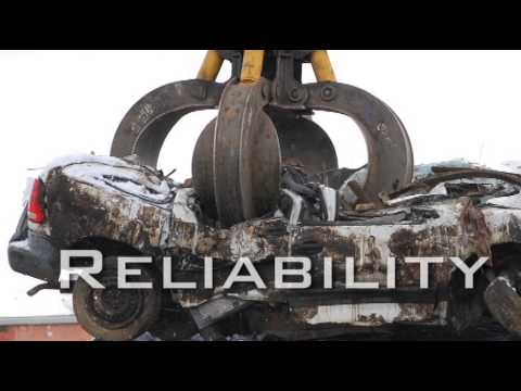 The Genesis Scrap Grapple provides high-capacity processing with less maintenance.